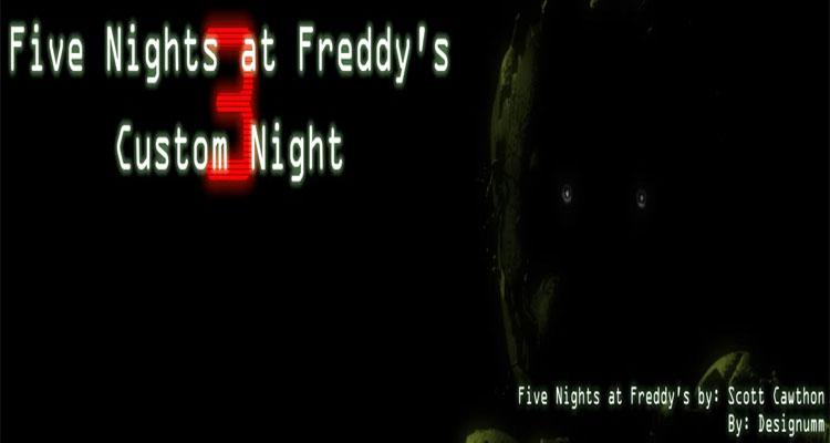 Five Nights at Freddy's 3 Custom Night (Fan-made)