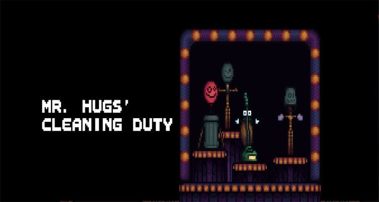 Mr Hugs' Cleaning Duty (April Fools game)