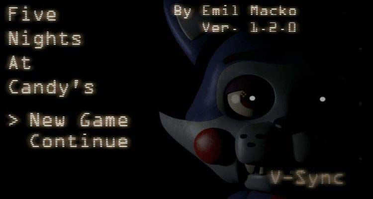 Five nights at candys android collection by rageon