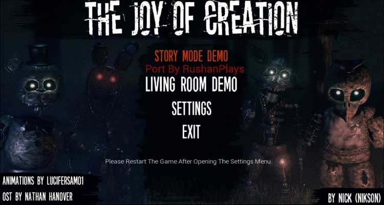 The Joy of Creation: Story Mode APK