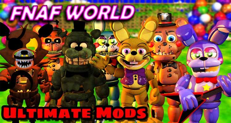 FNaF World Mods (Official)