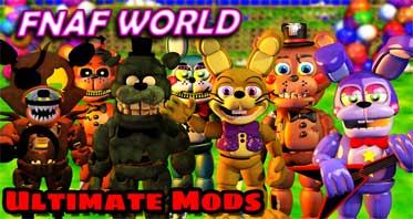 FNaF World Mods (Official)