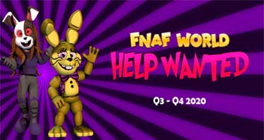 FNaF World: Help Wanted