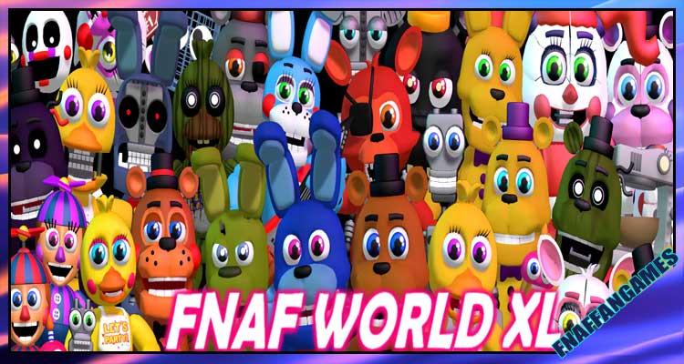 FNaF World XL