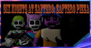 Six Nights At Zaftero: Zaftero Pizza