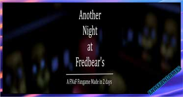 Another Night at Fredbear's: A FNAF Fan Game Made in Two Days