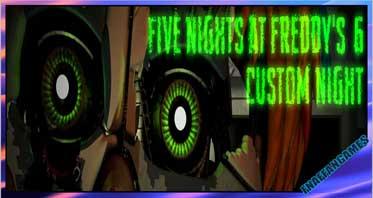 Five Nights at Freddy's 6 Custom Night (Fan-Made)
