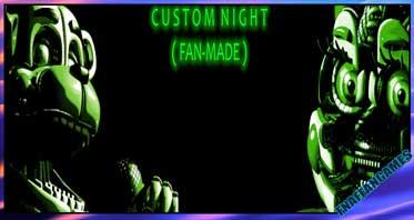 Sister Location: Custom Night (FAN-MADE) Clickteam Edition