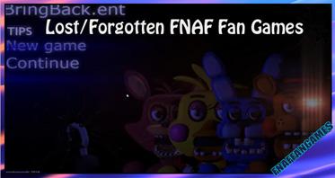 Lost/Forgotten FNAF Fan Games