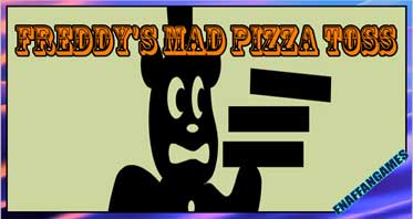 Freddy's Mad Pizza Toss (A Game & Watch styled fan game)